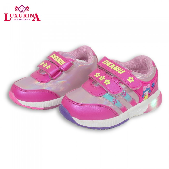 Pink flower doll shinny joggers from category shoes luxurina 50 pink flower doll shinny joggers mightylinksfo