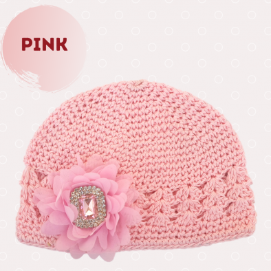 PINK Cap with bling